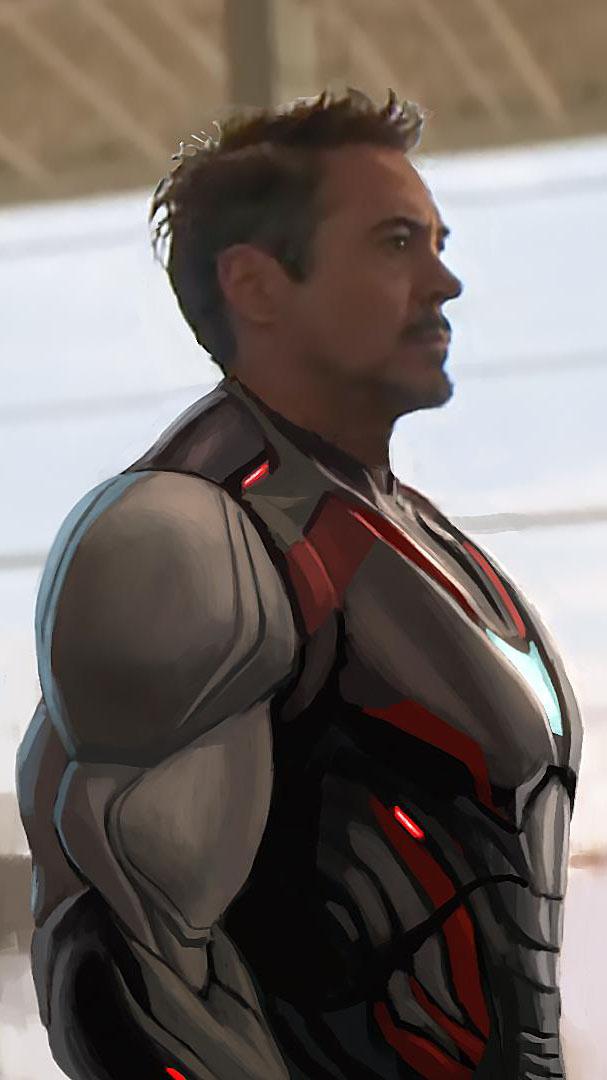 Tony Stark Quantum Suit iPhone Wallpaper