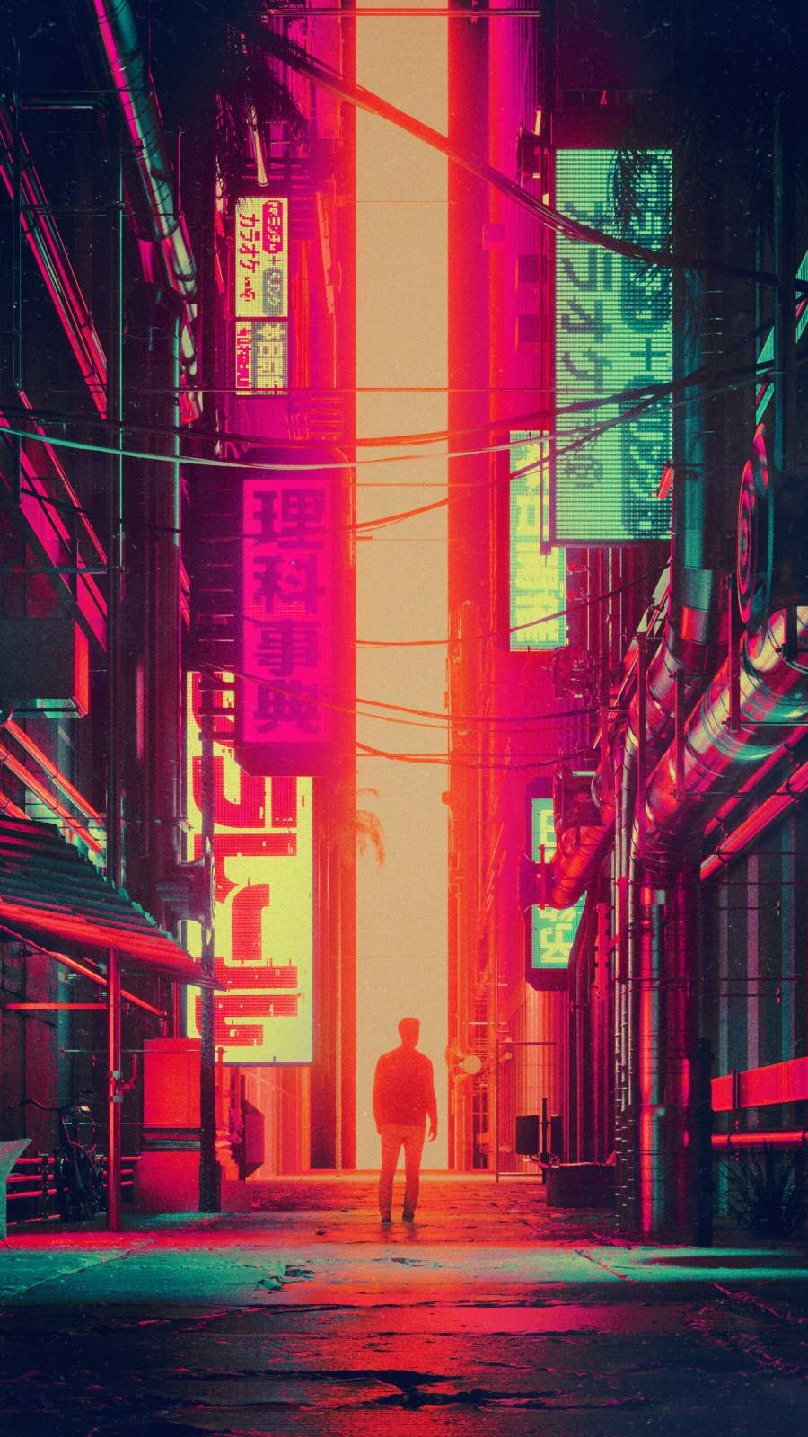 Visit to Japan iPhone Wallpaper