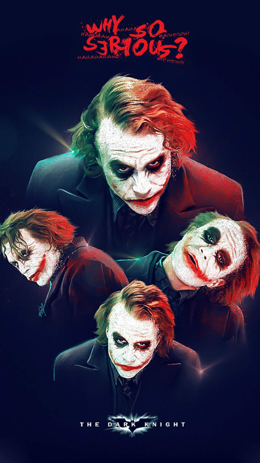 Why So Serious iPhone Wallpaper
