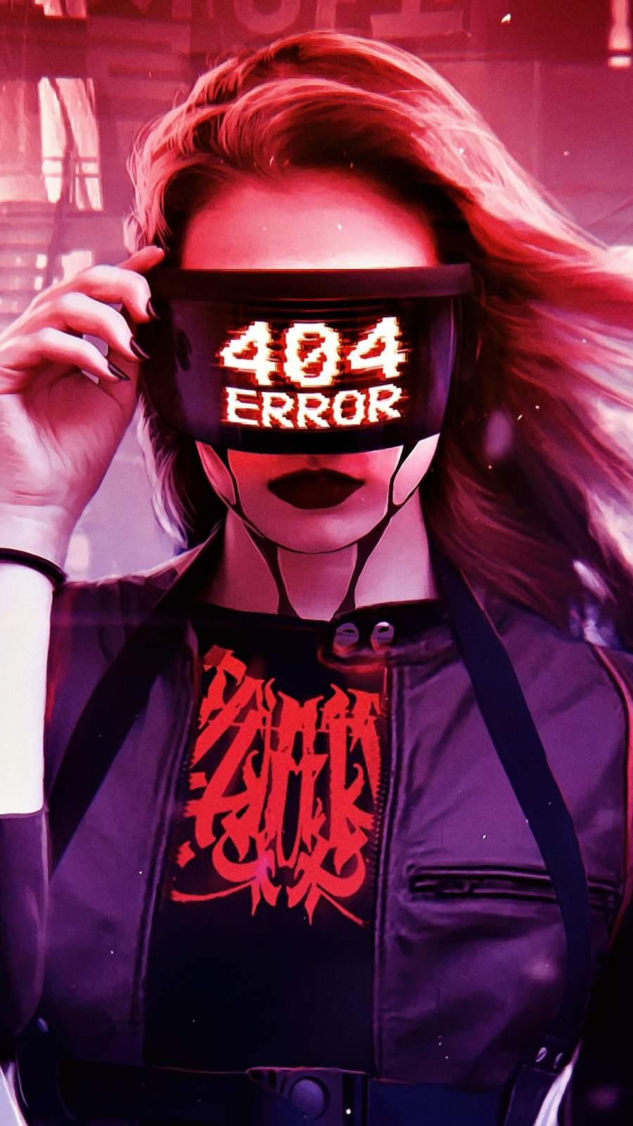 404 Error iPhone Wallpaper