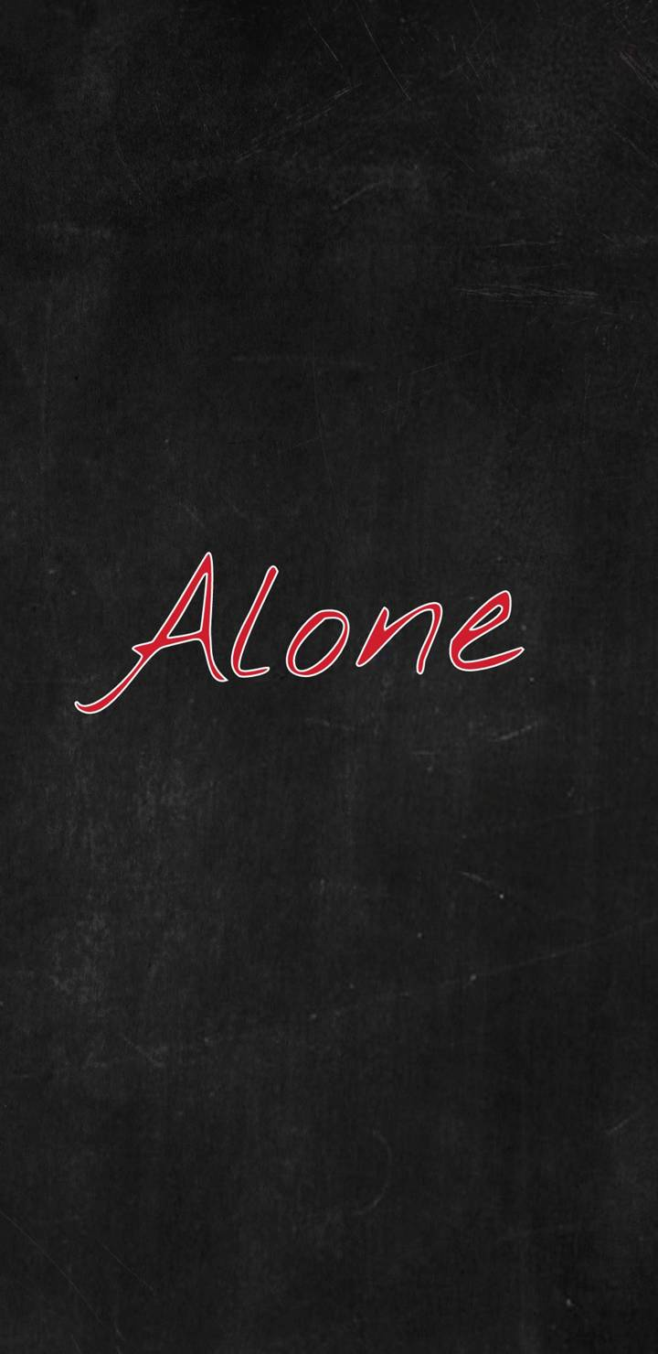 Alone iPhone Wallpaper