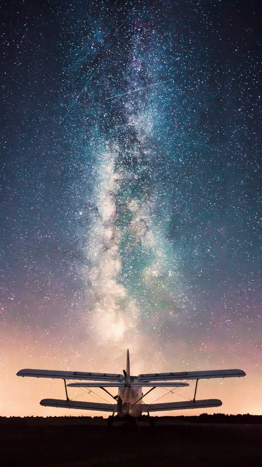 Astro Milky Way iPhone Wallpaper