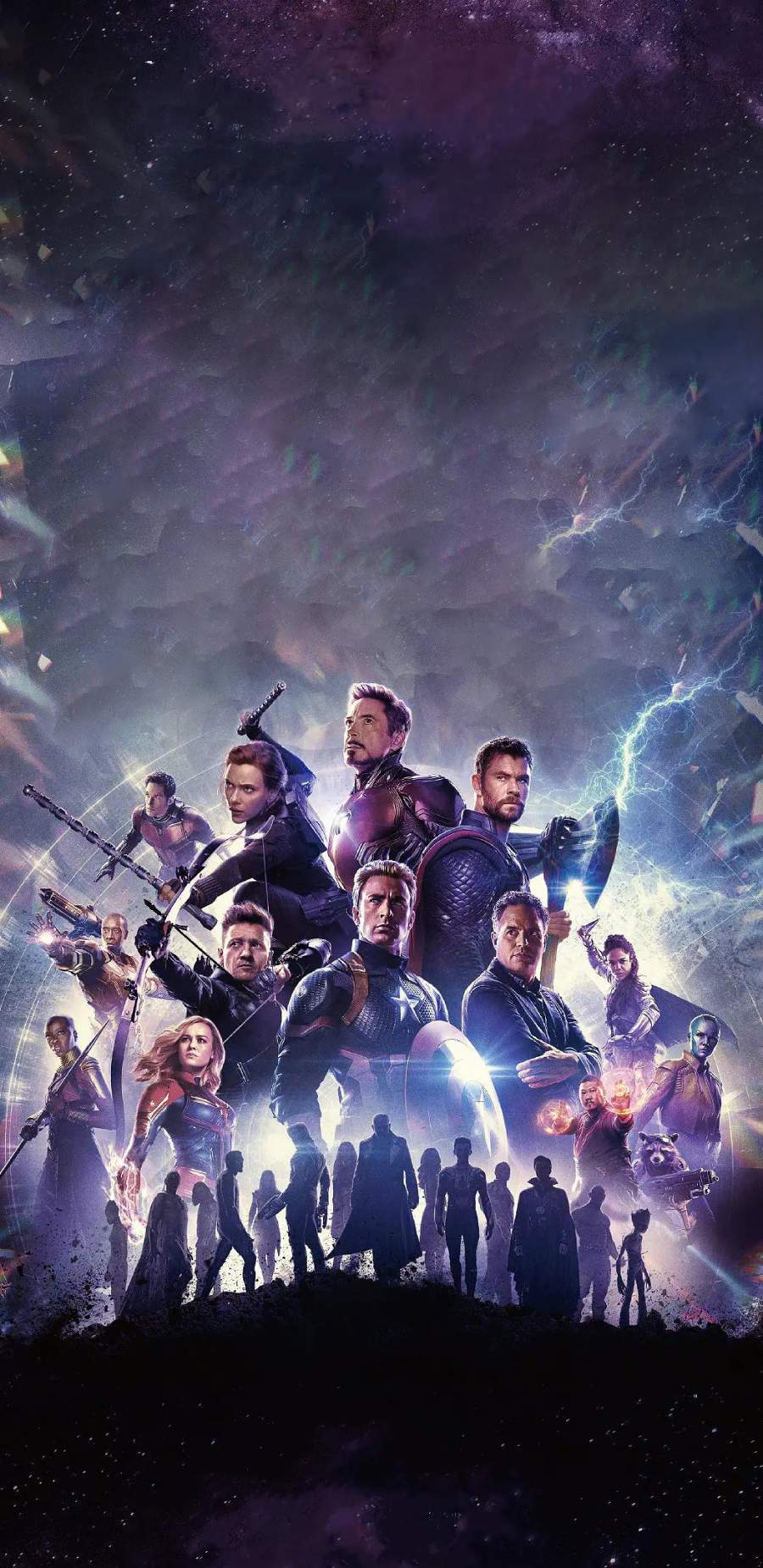 Avengers Poster iPhone Wallpaper
