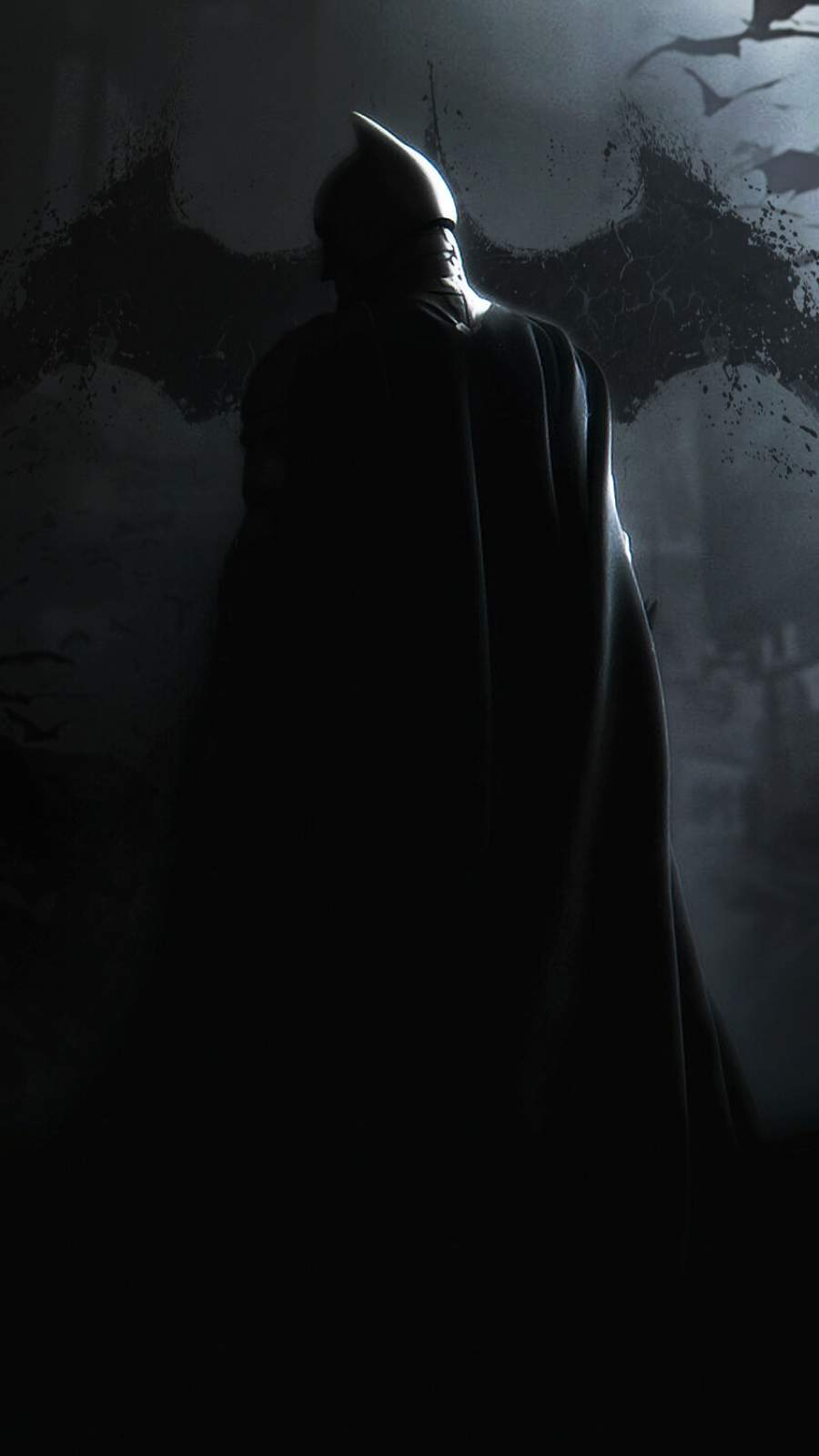 Batman Dark iPhone Wallpaper