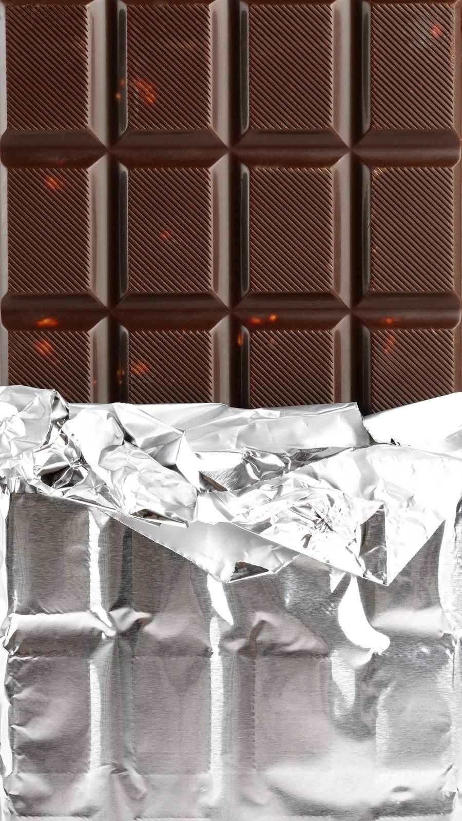 Chocolate Bar iPhone Wallpaper