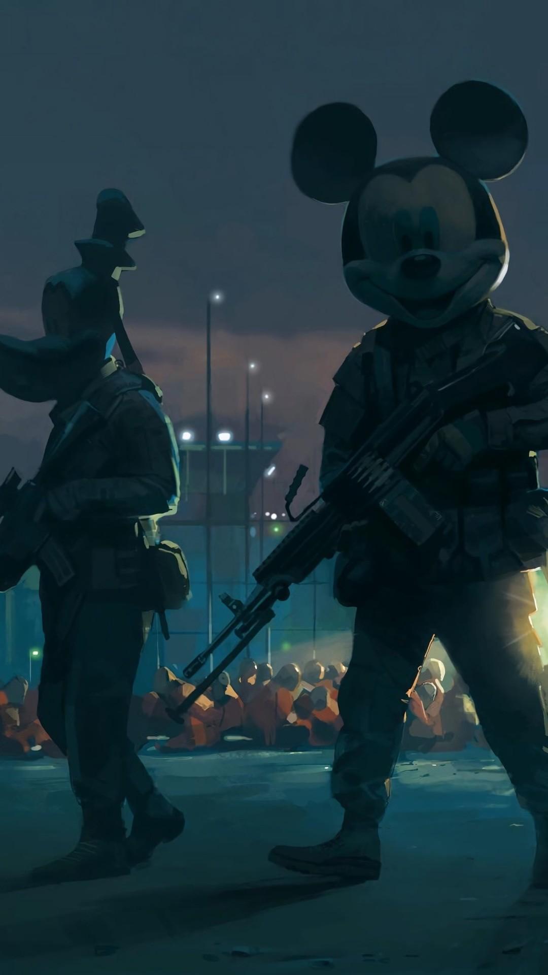 Disney Soldiers iPhone Wallpaper