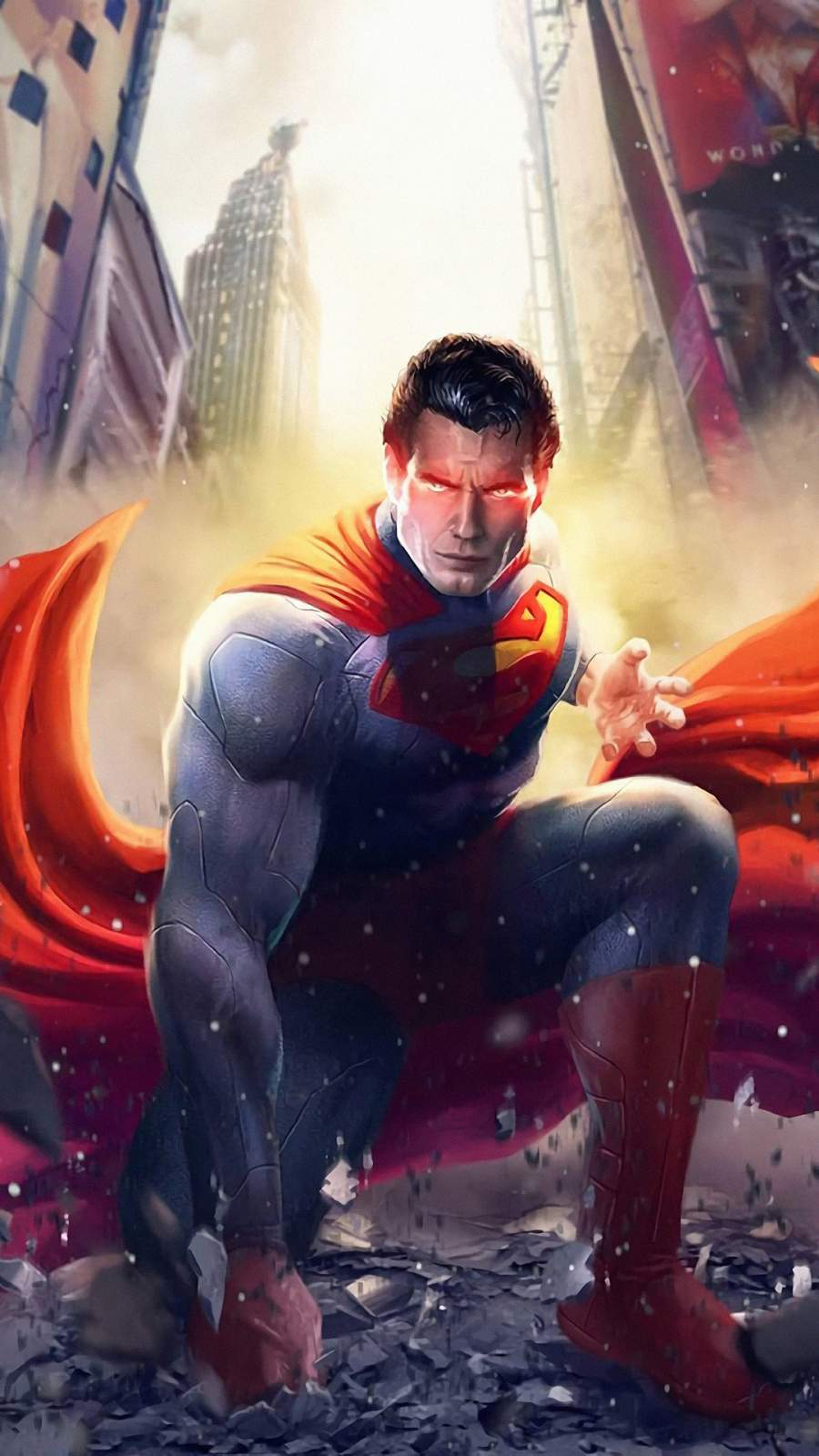 Henry Cavill Superman iPhone Wallpaper