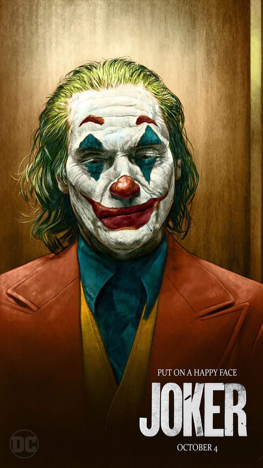 Joker Arthur Fleck iPhone Wallpaper