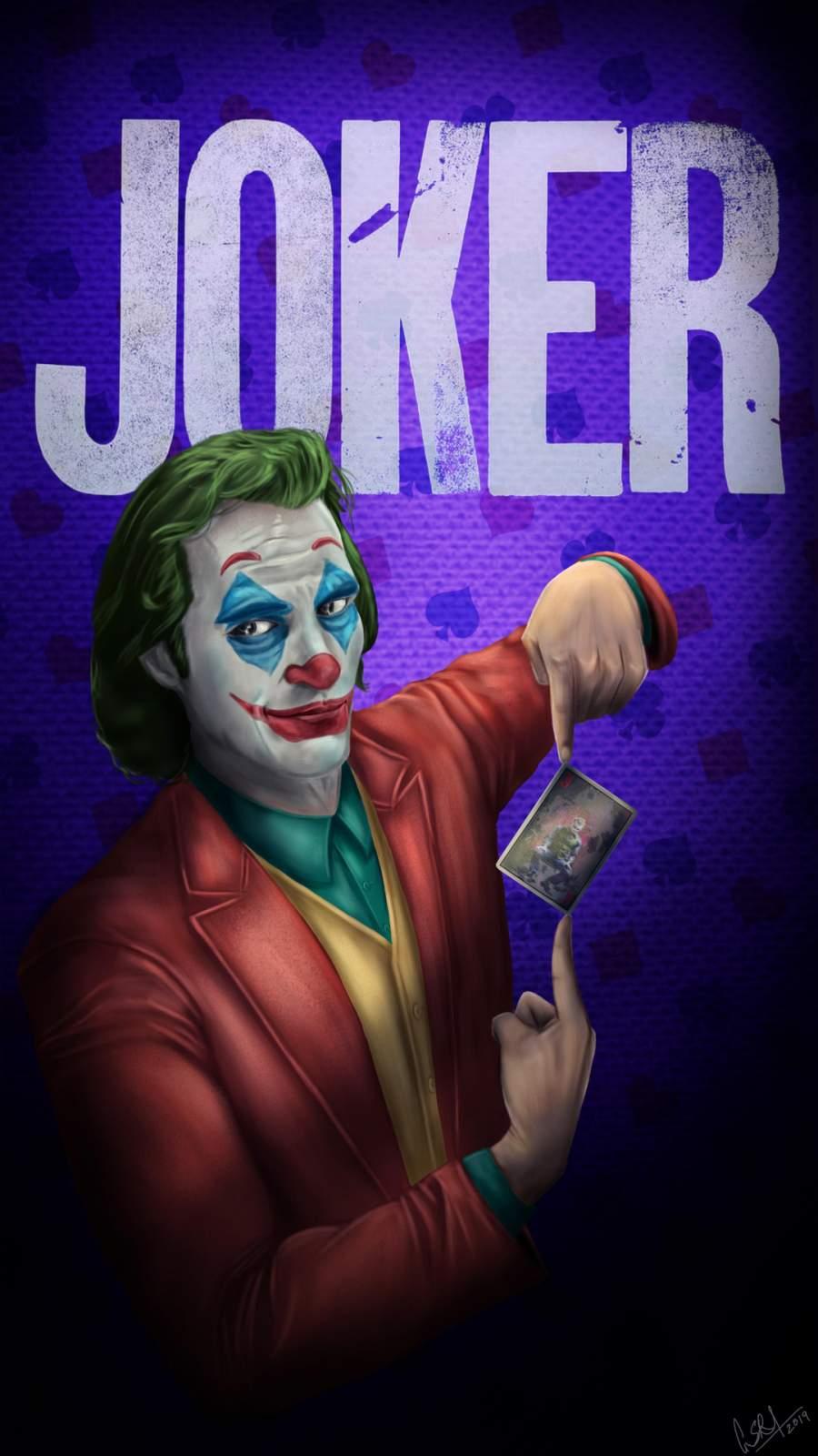 Joker Card iPhone Wallpaper