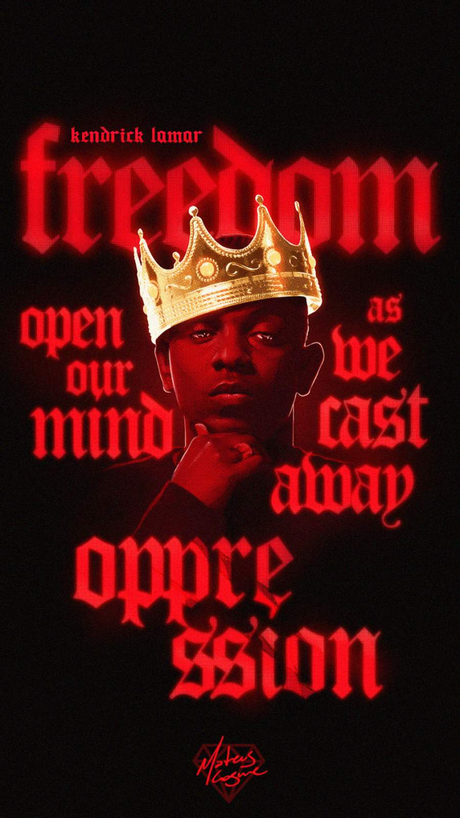 Kendrick Lamar iPhone Wallpaper