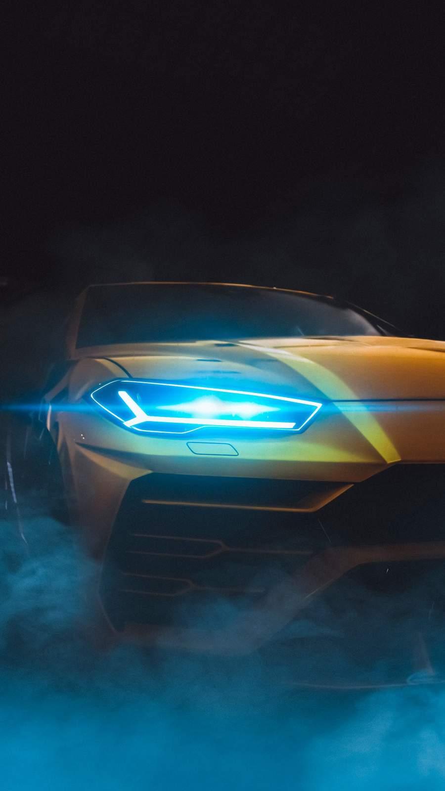 Lamborghini Urus iPhone Wallpaper