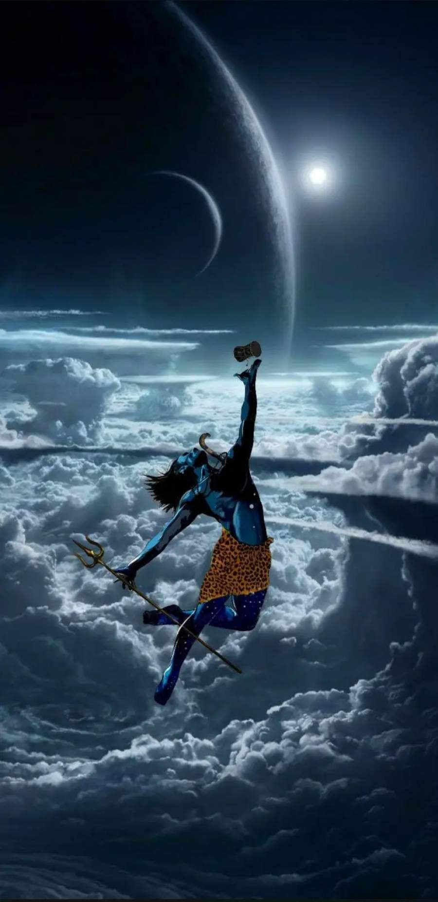Lord Shiva Mahadev iPhone Wallpaper