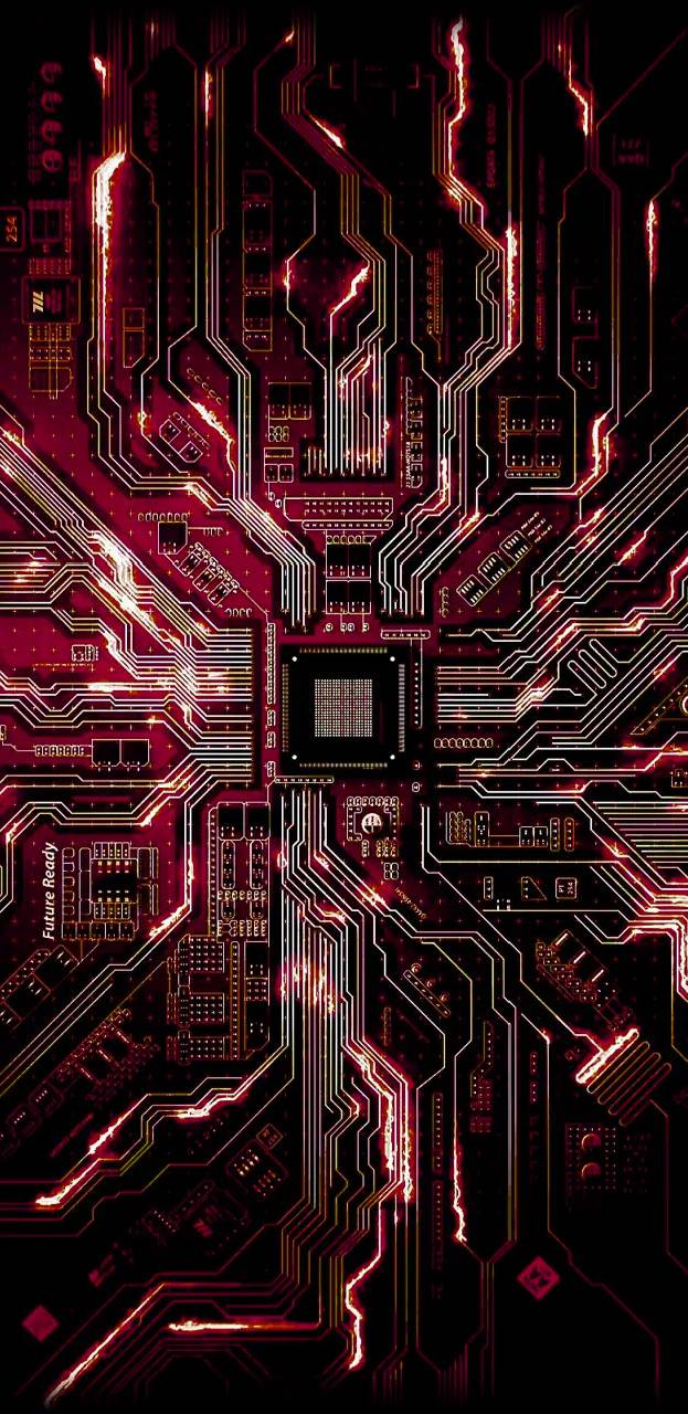 Motherboard Chip iPhone Wallpaper