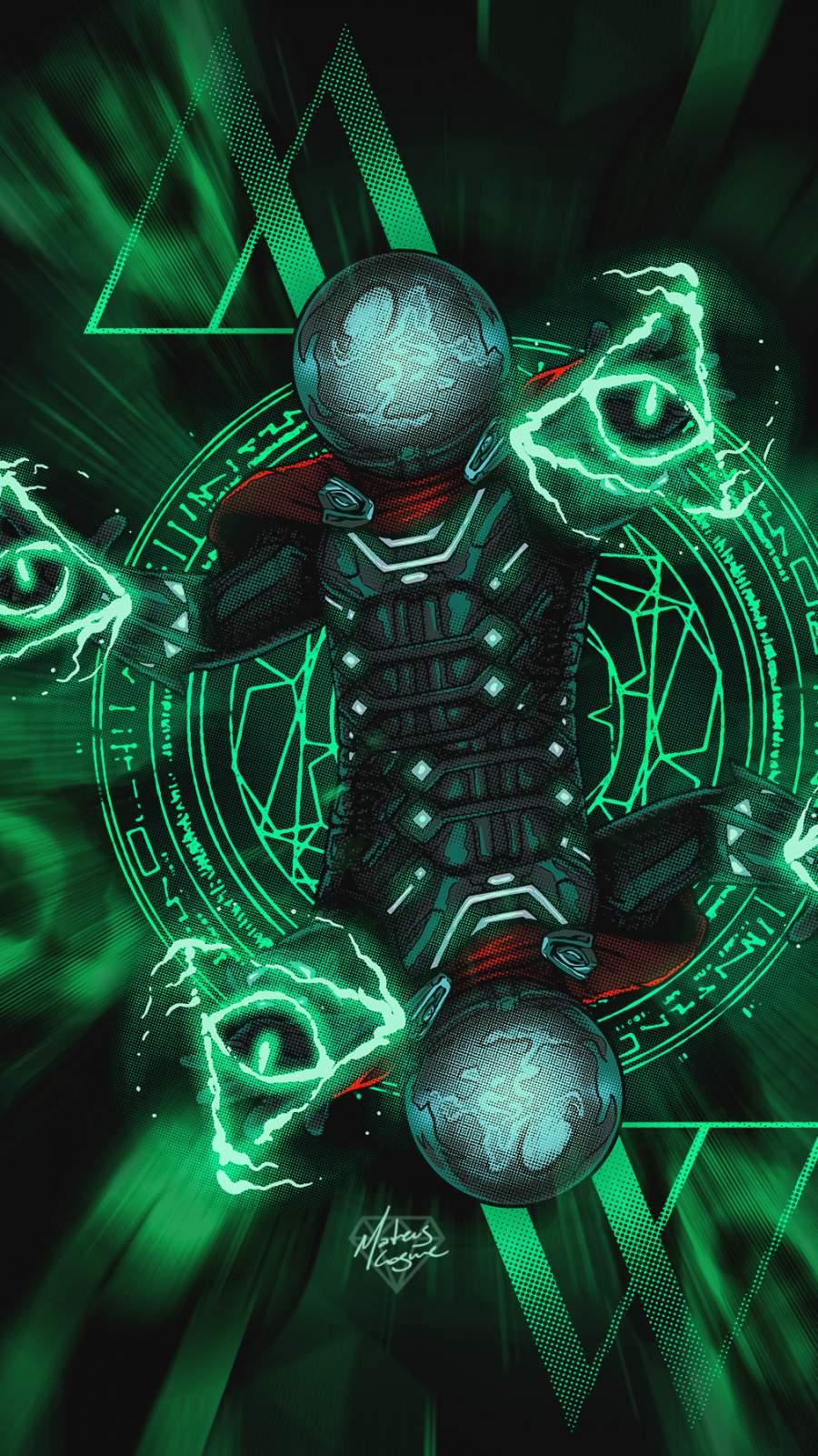 Mysterio Art iPhone Wallpaper