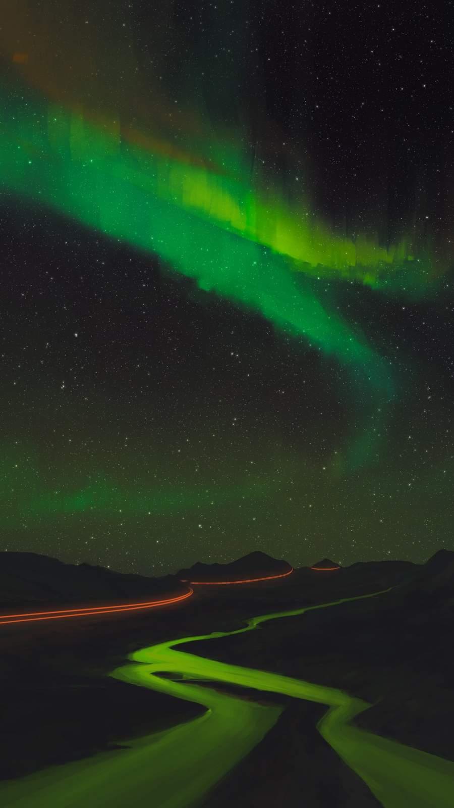 Night Sky iPhone Wallpaper