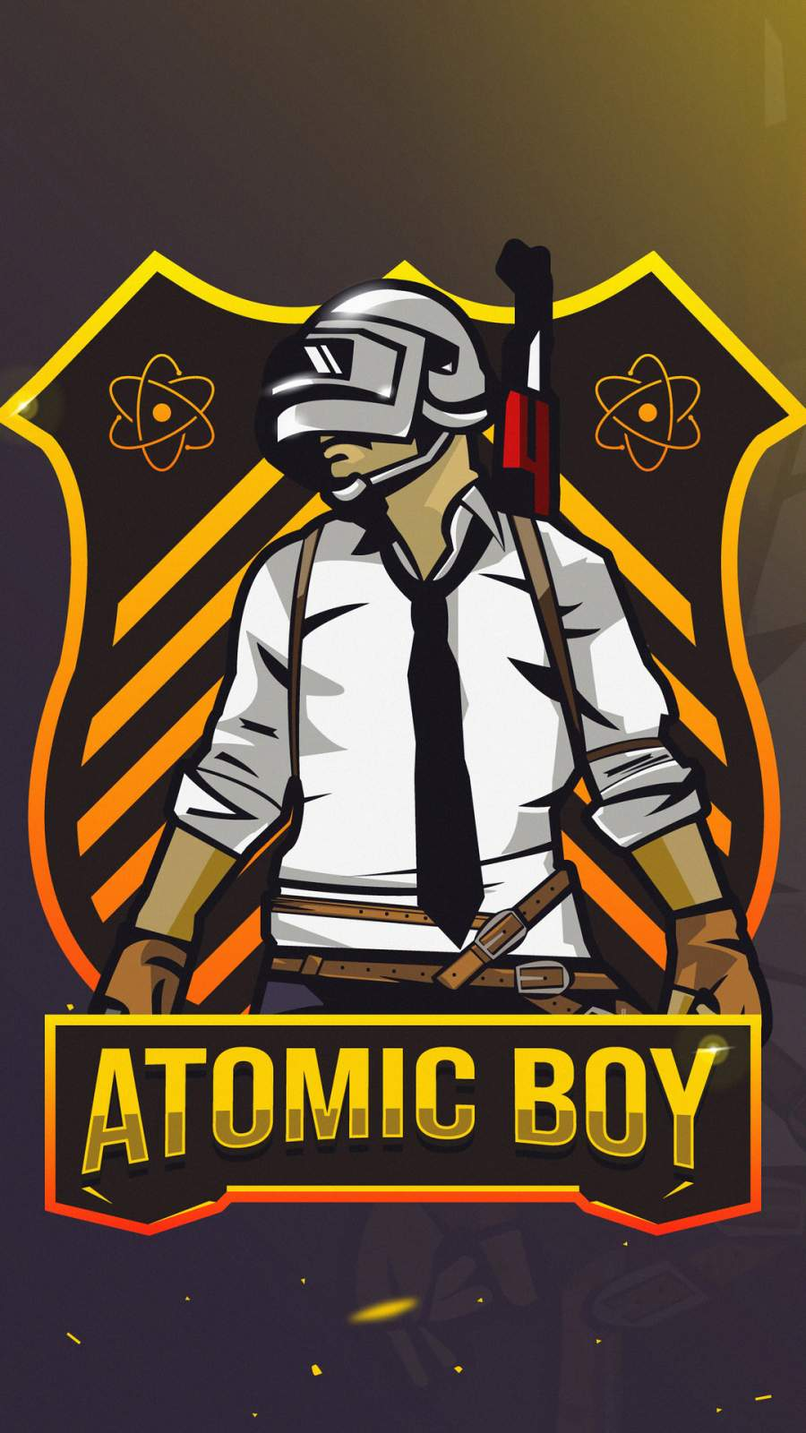 PUBG Atomic Boy iPhone Wallpaper