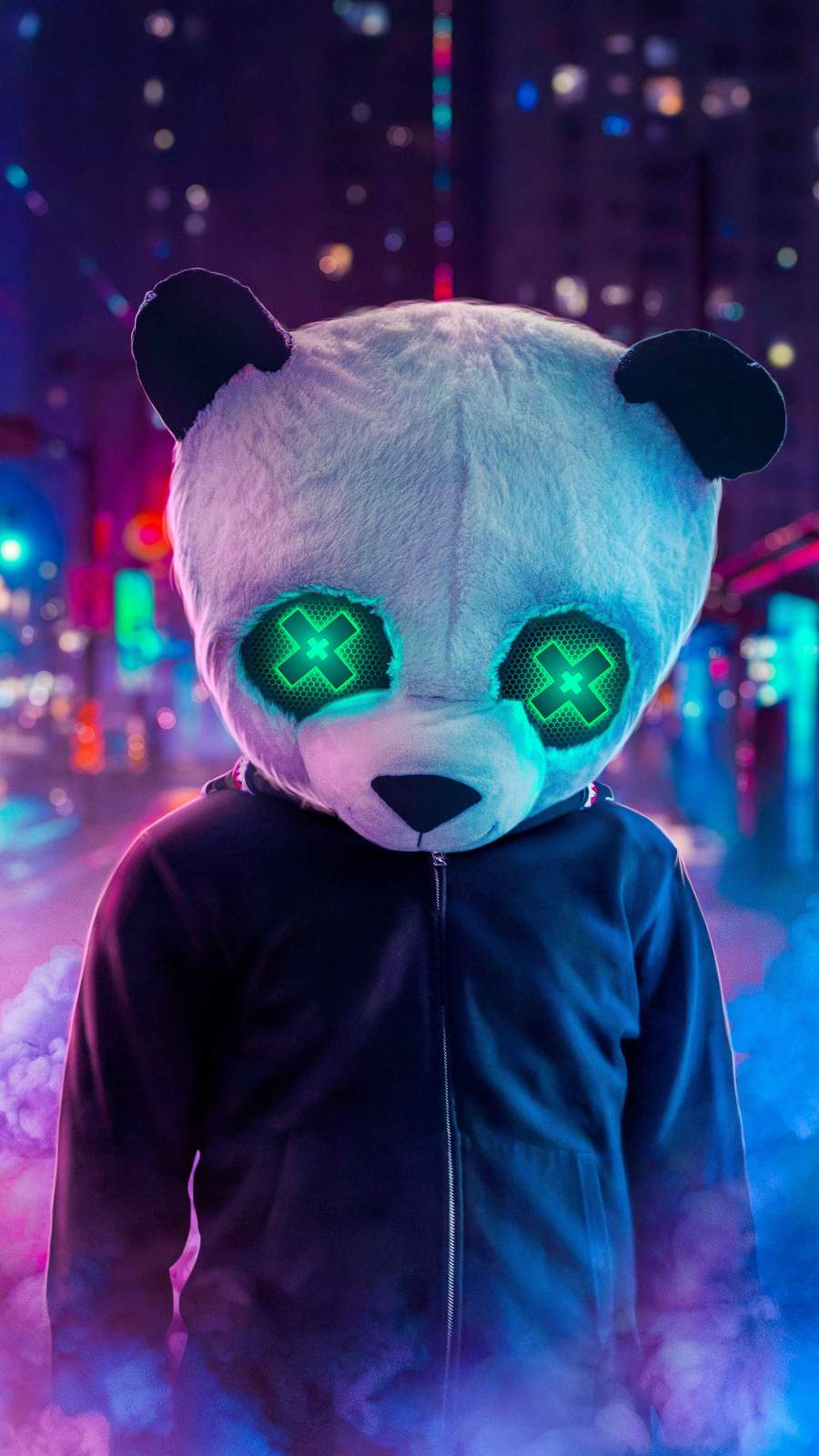 Panda Style iPhone Wallpaper