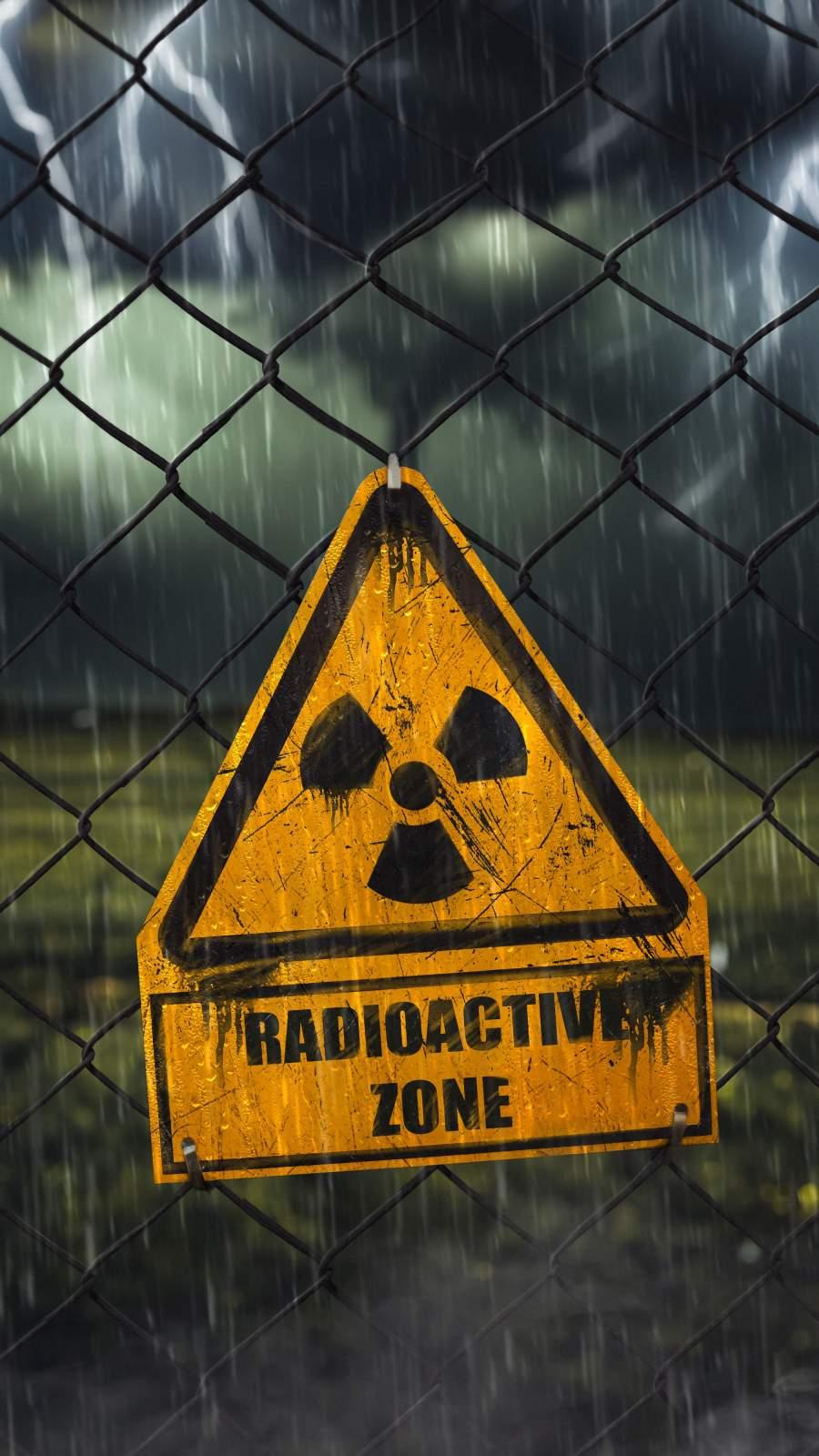 Radioactive Zone iPhone Wallpaper