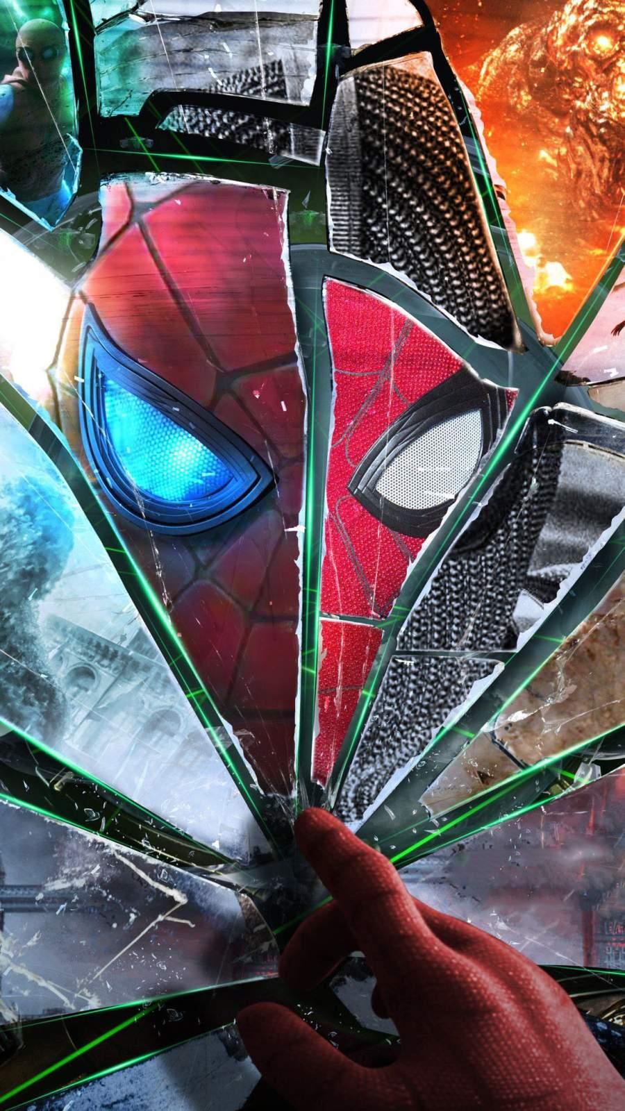 Spider Man Art iPhone Wallpaper 1