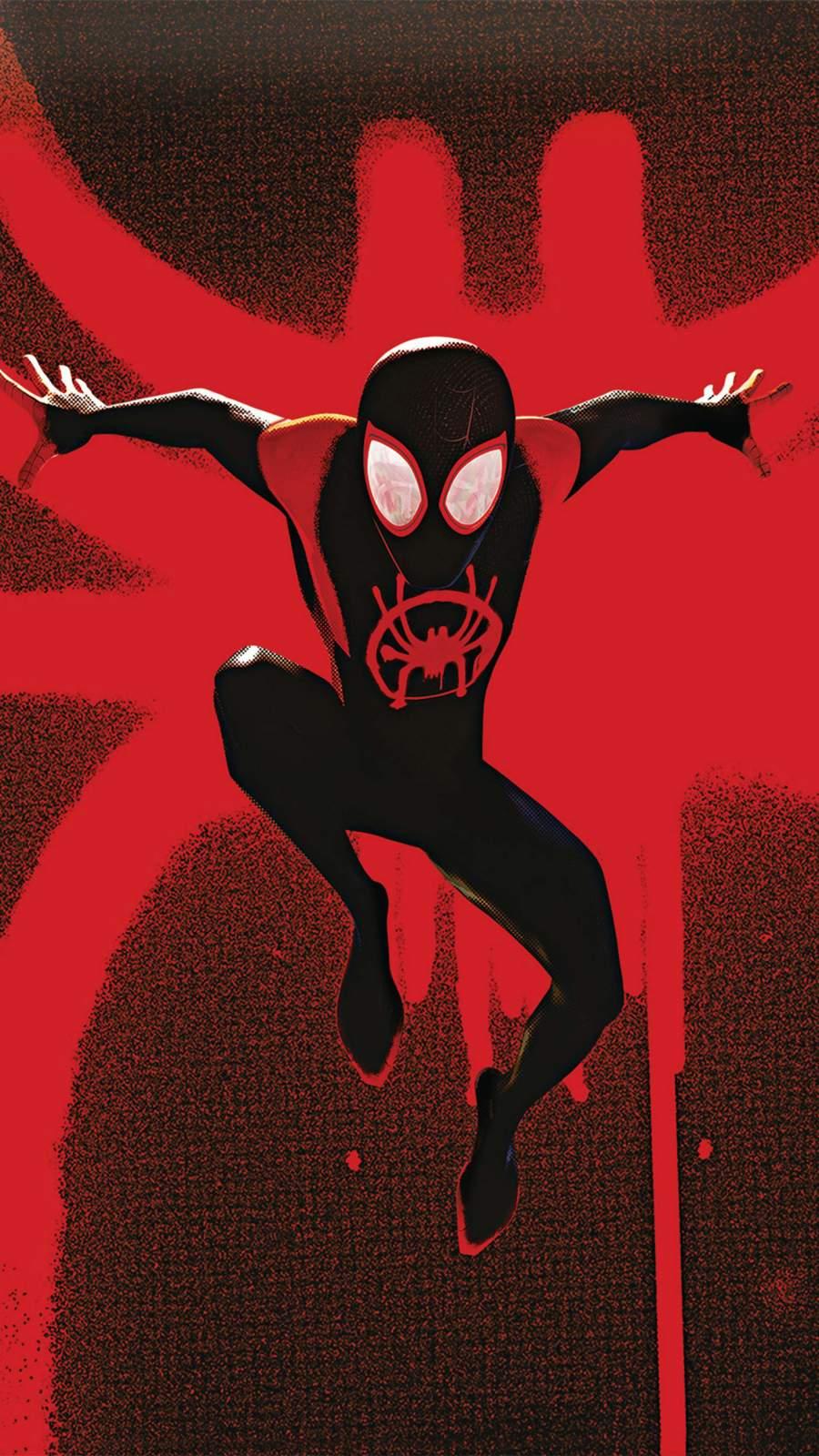Spider Verse iPhone Wallpaper