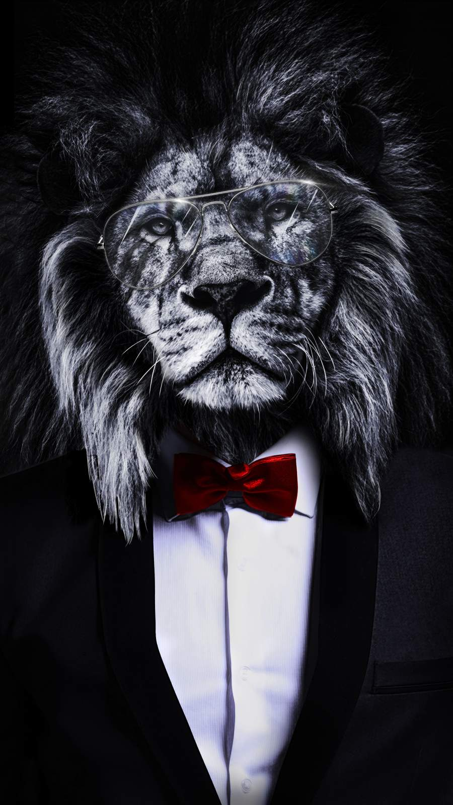 The Corporate Lion iPhone Wallpaper