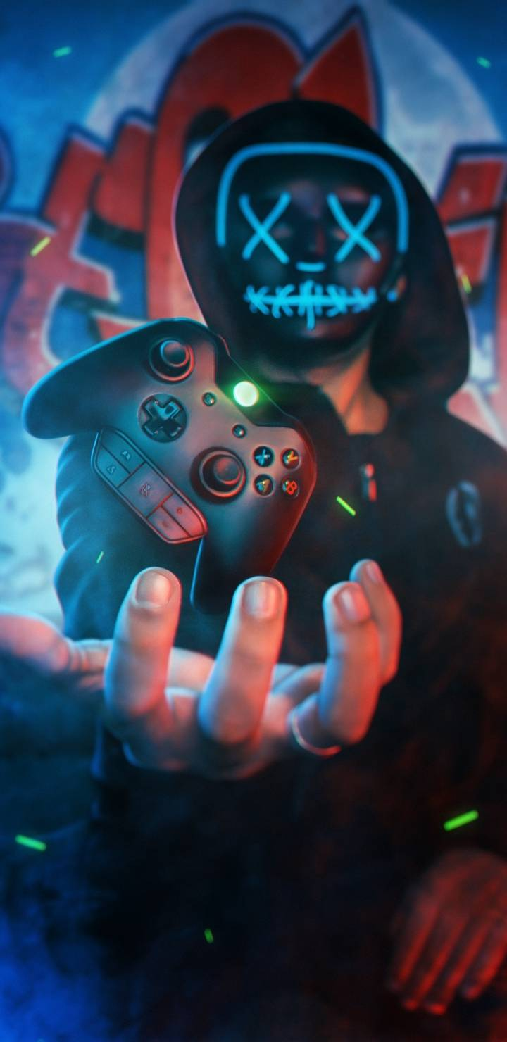 Xbox Gamer iPhone Wallpaper