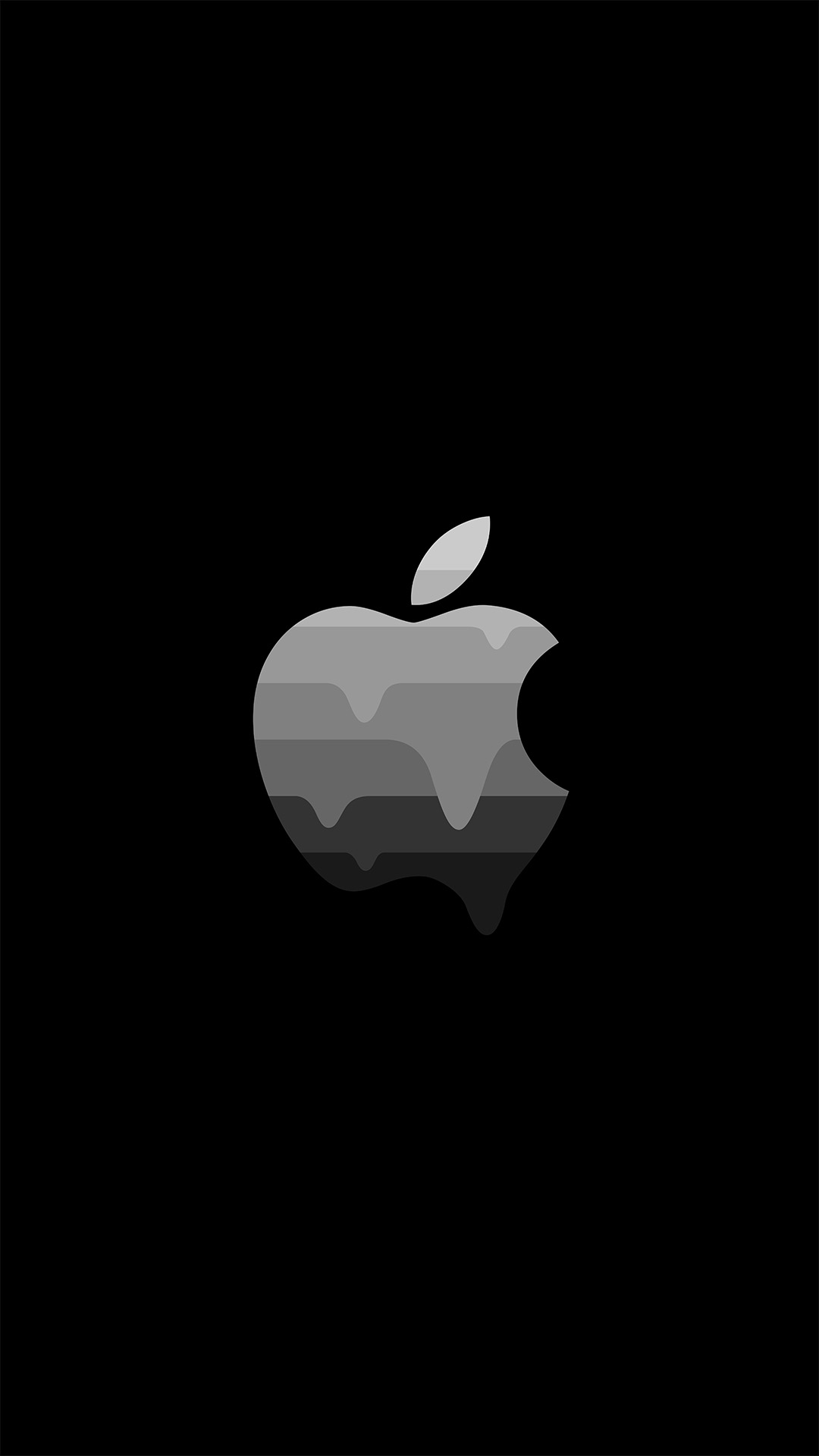 Apple Dark iPhone Wallpaper