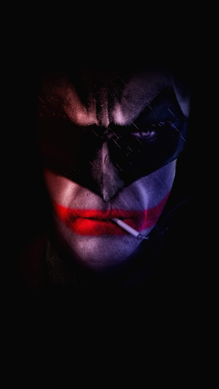 Bat Joker iPhone Wallpaper