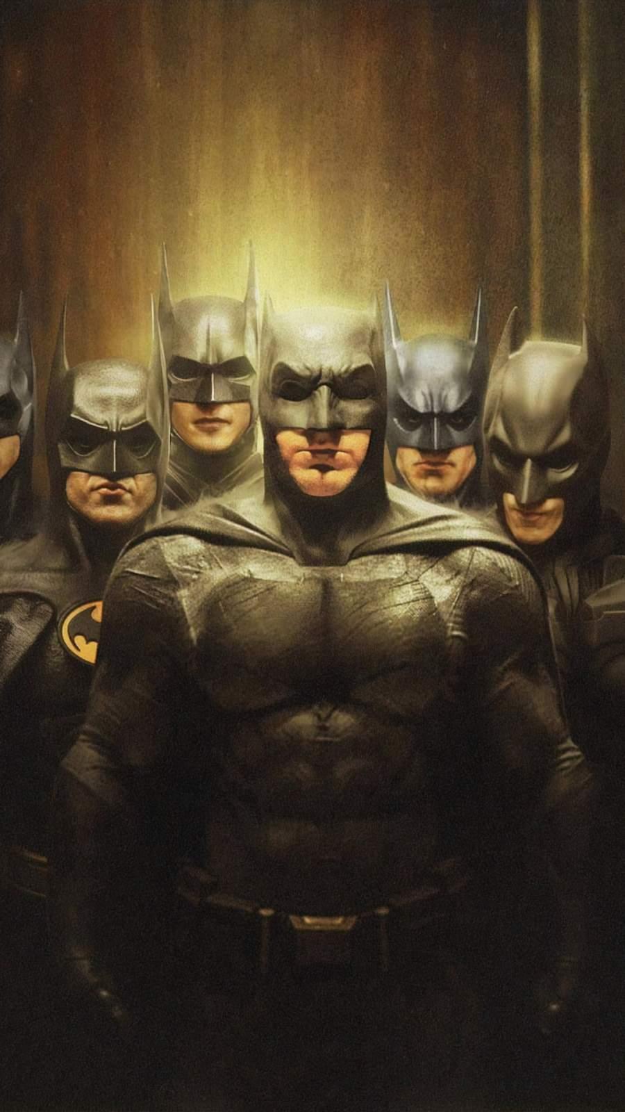 Batman Squad iPhone Wallpaper