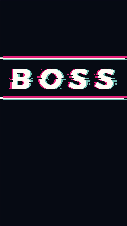 Boss iPhone Wallpaper