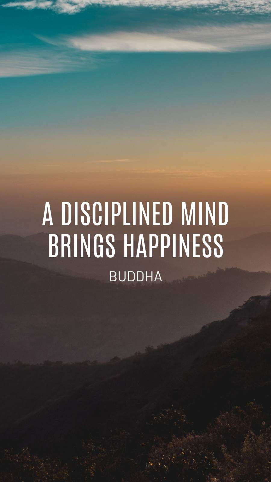 Buddha Quote iPhone Wallpaper