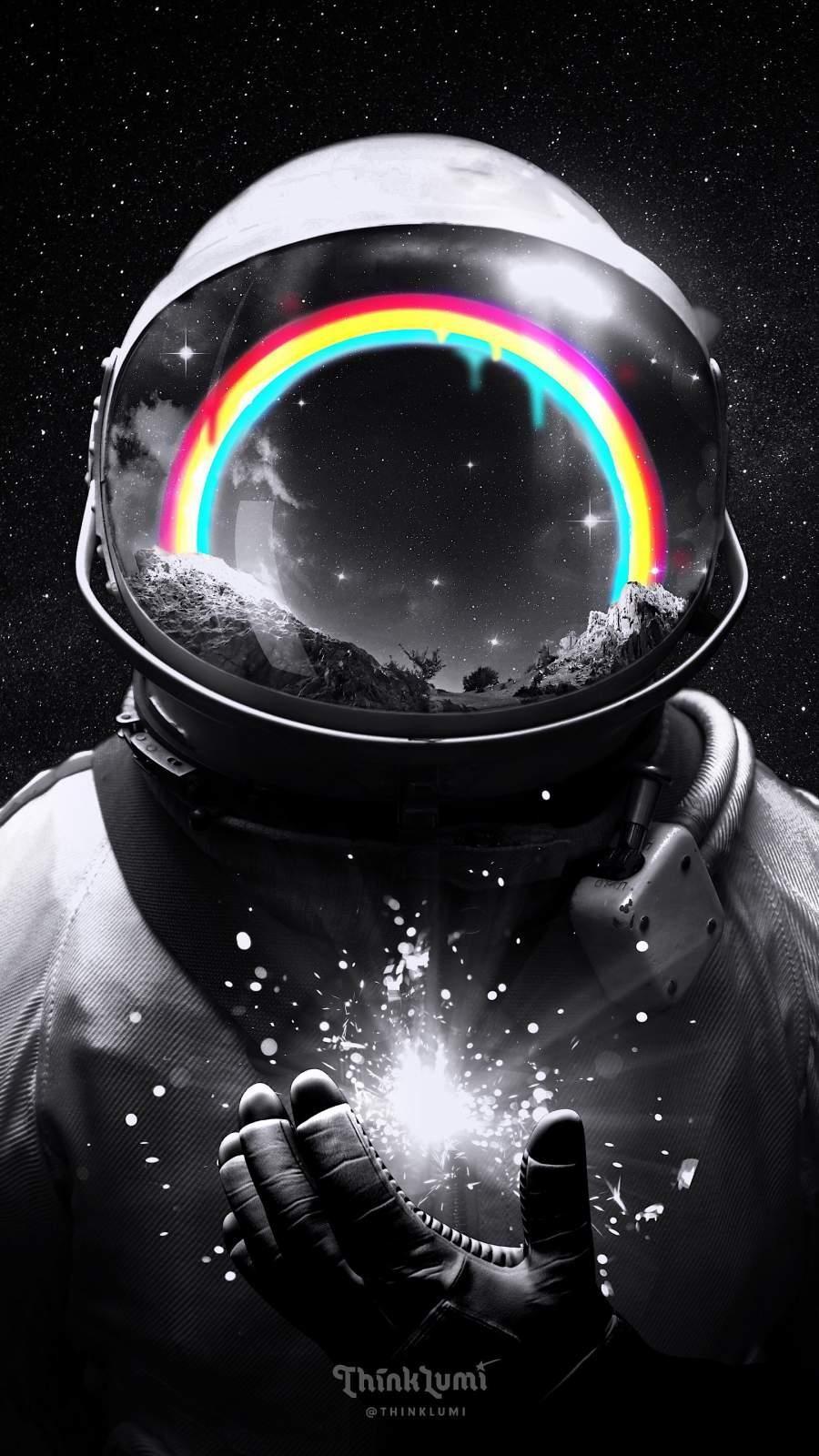 Cosmic Hope iPhone Wallpaper