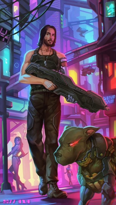 Cyberpunk 2077 Keanu Reeves Iphone Wallpaper Iphone Wallpapers