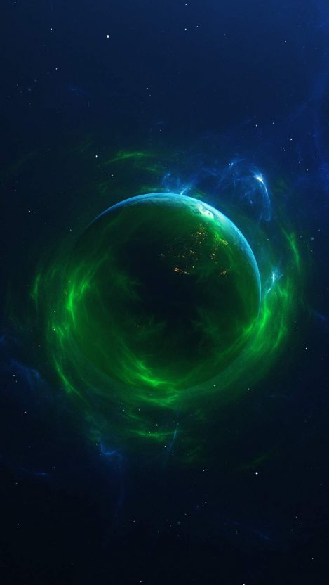 Dark Space iPhone Wallpaper