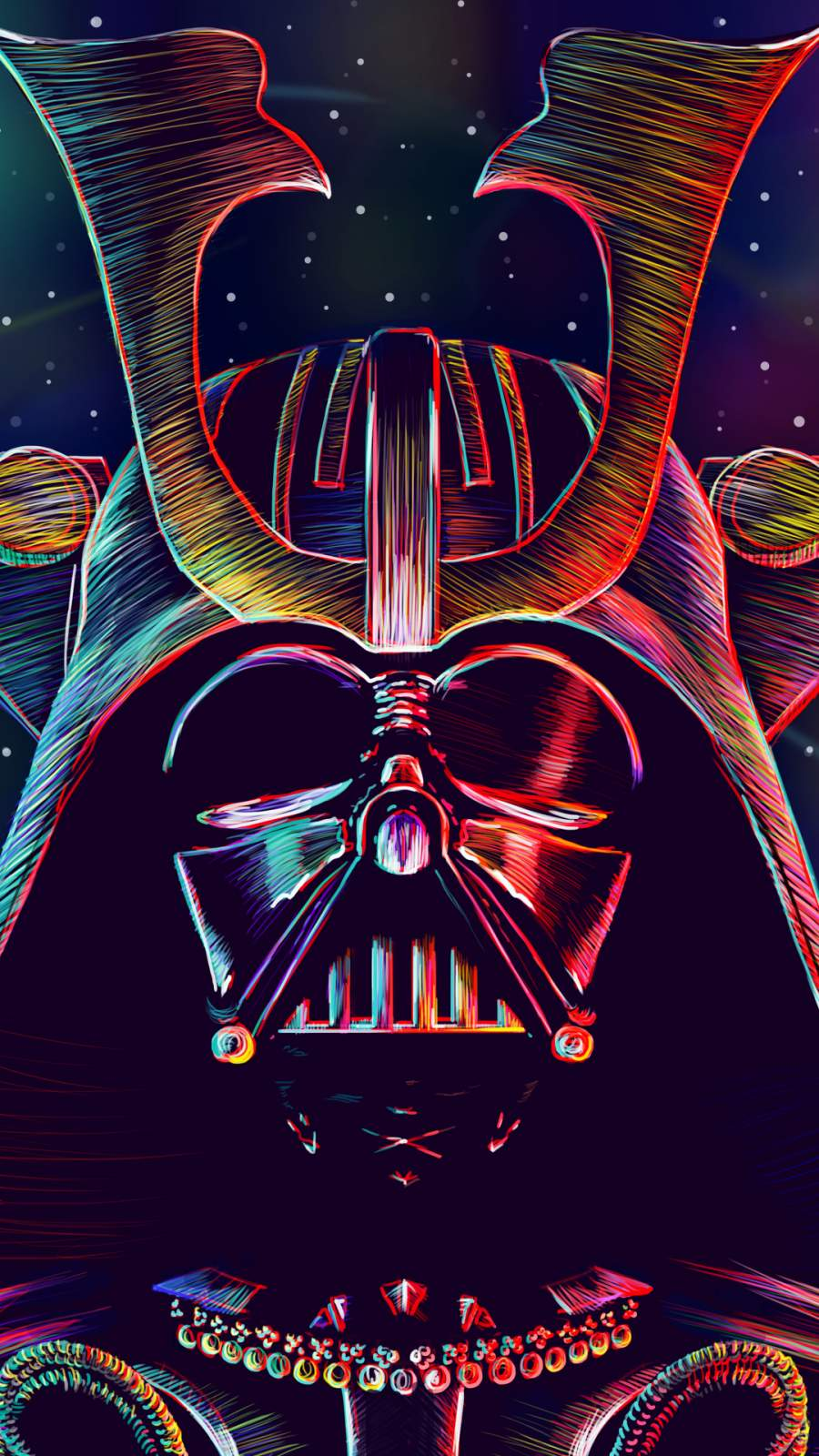 Darth Vader 4K iPhone Wallpaper