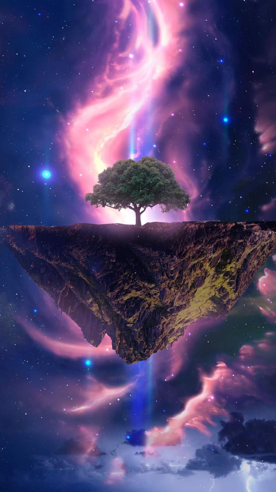 Dream Tree iPhone Wallpaper