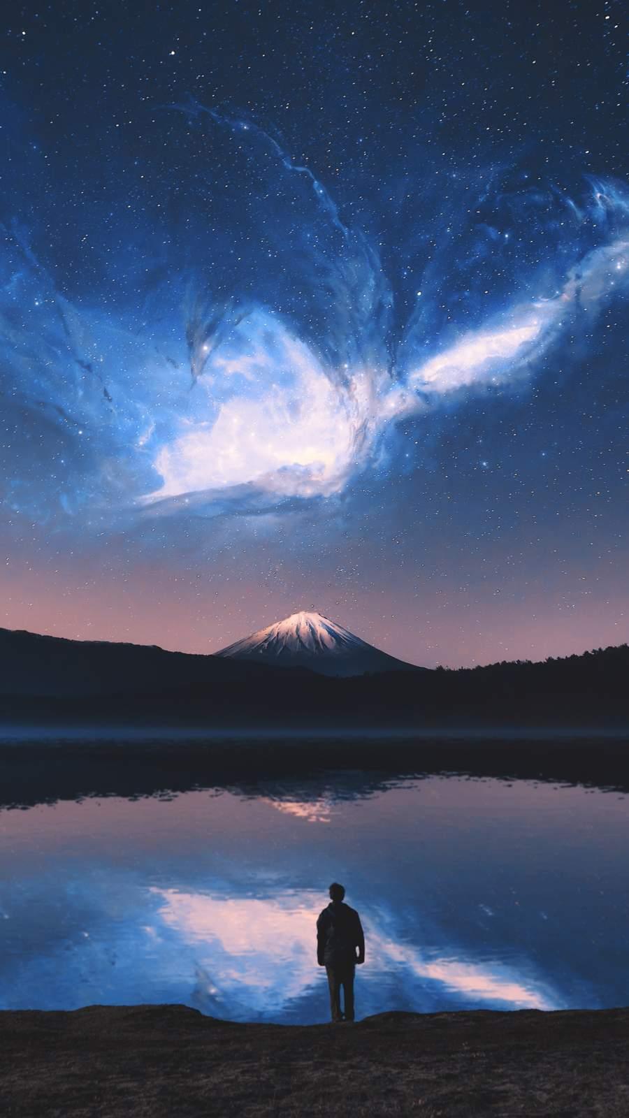 Eagle Nebula iPhone Wallpaper