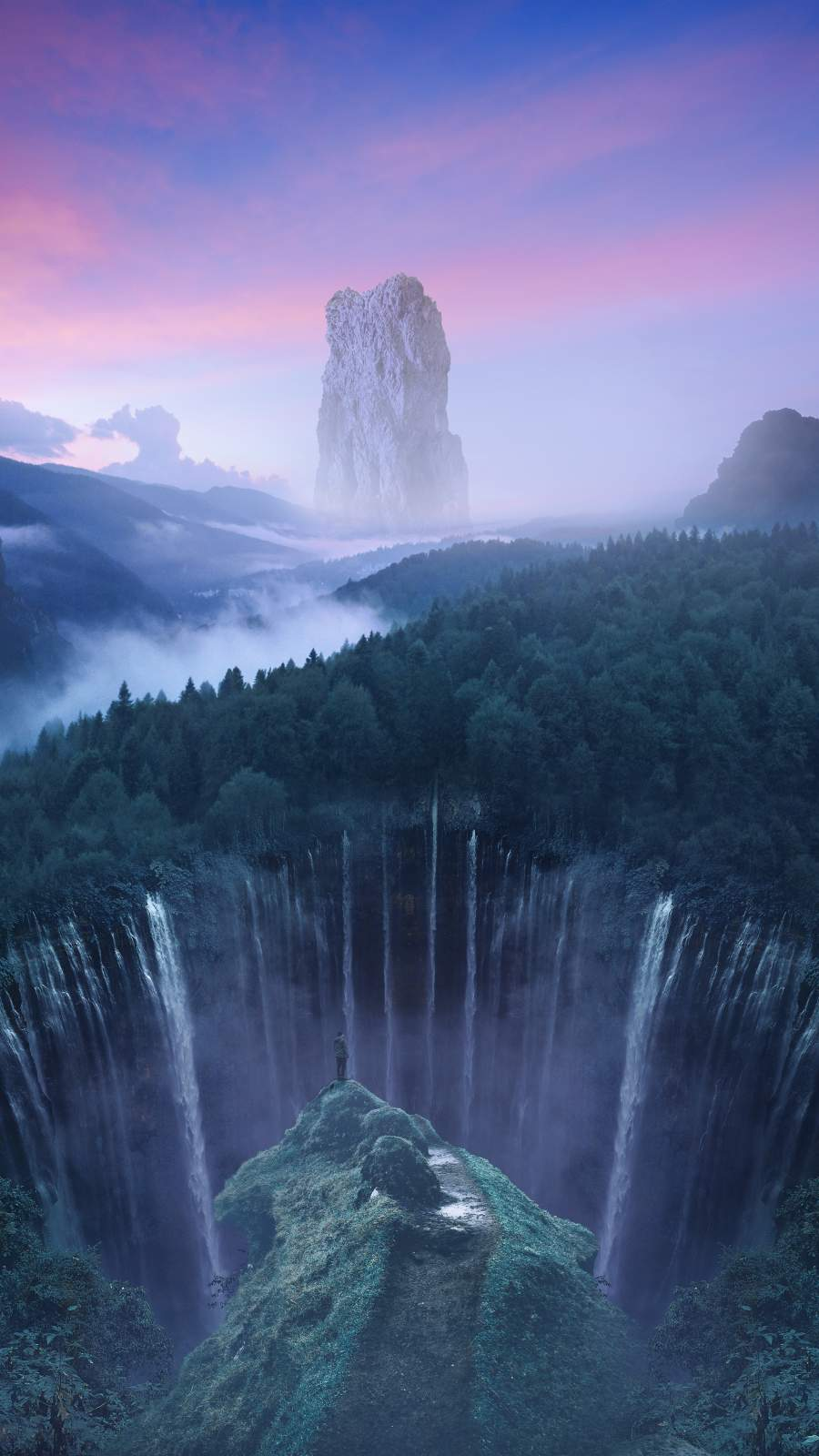Fantasy World iPhone Wallpaper