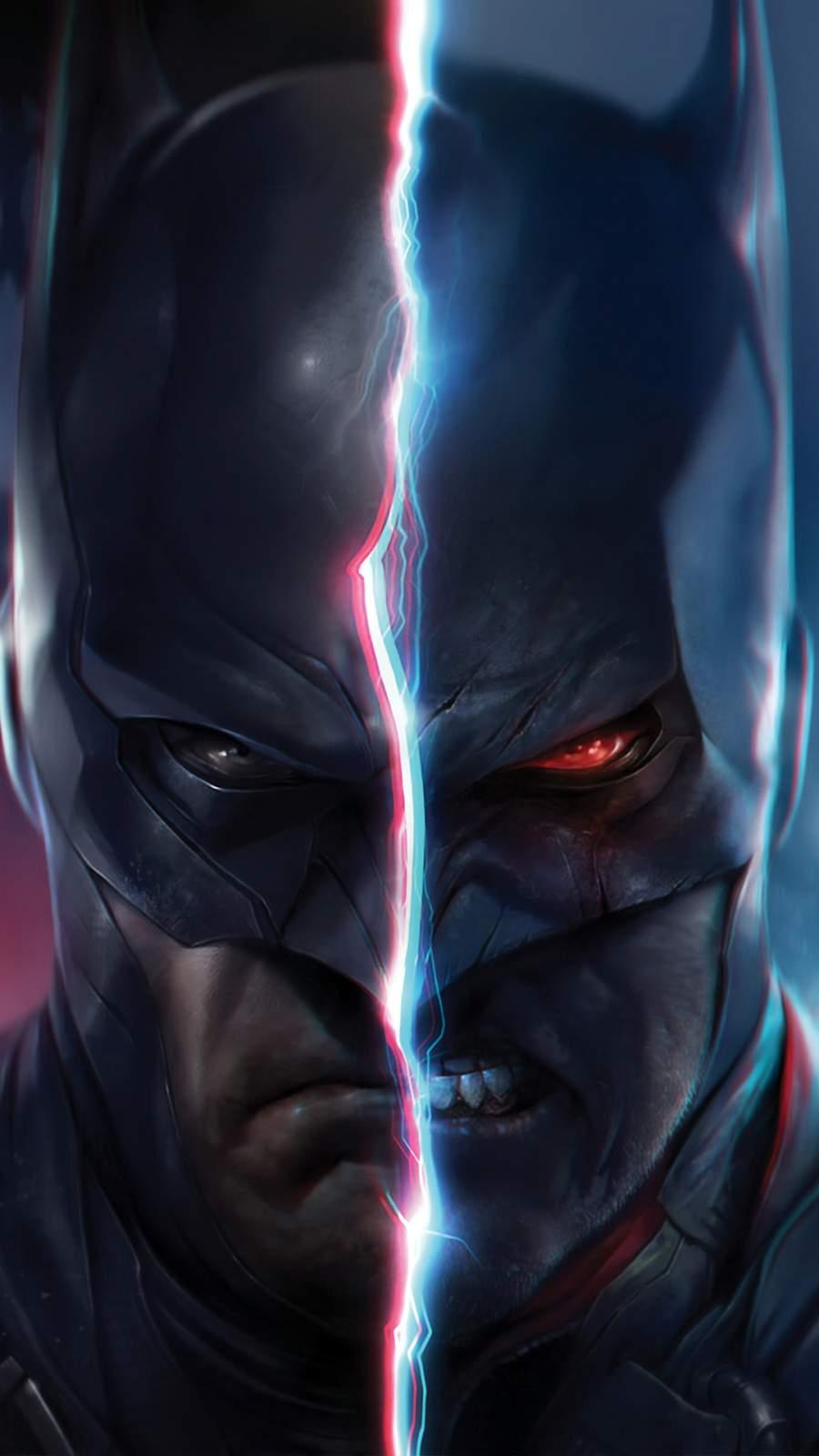 Flashpoint Batman iPhone Wallpaper