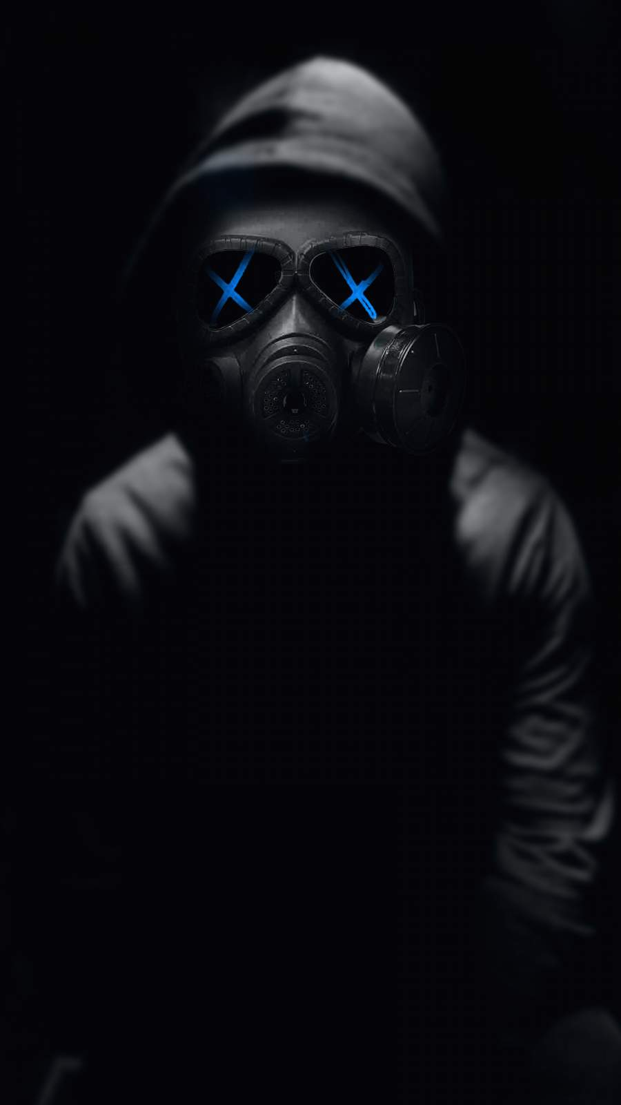 Gas Mask iPhone Wallpaper