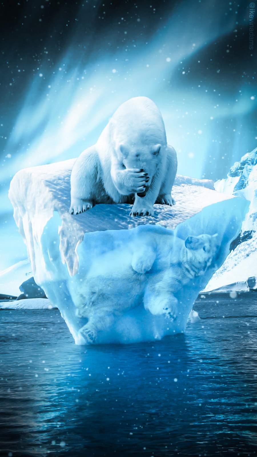 Global Warming iPhone Wallpaper