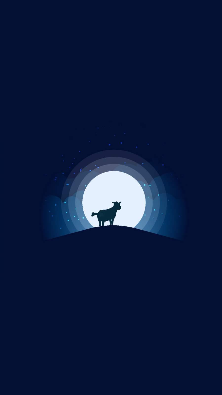 Goat iPhone Wallpaper