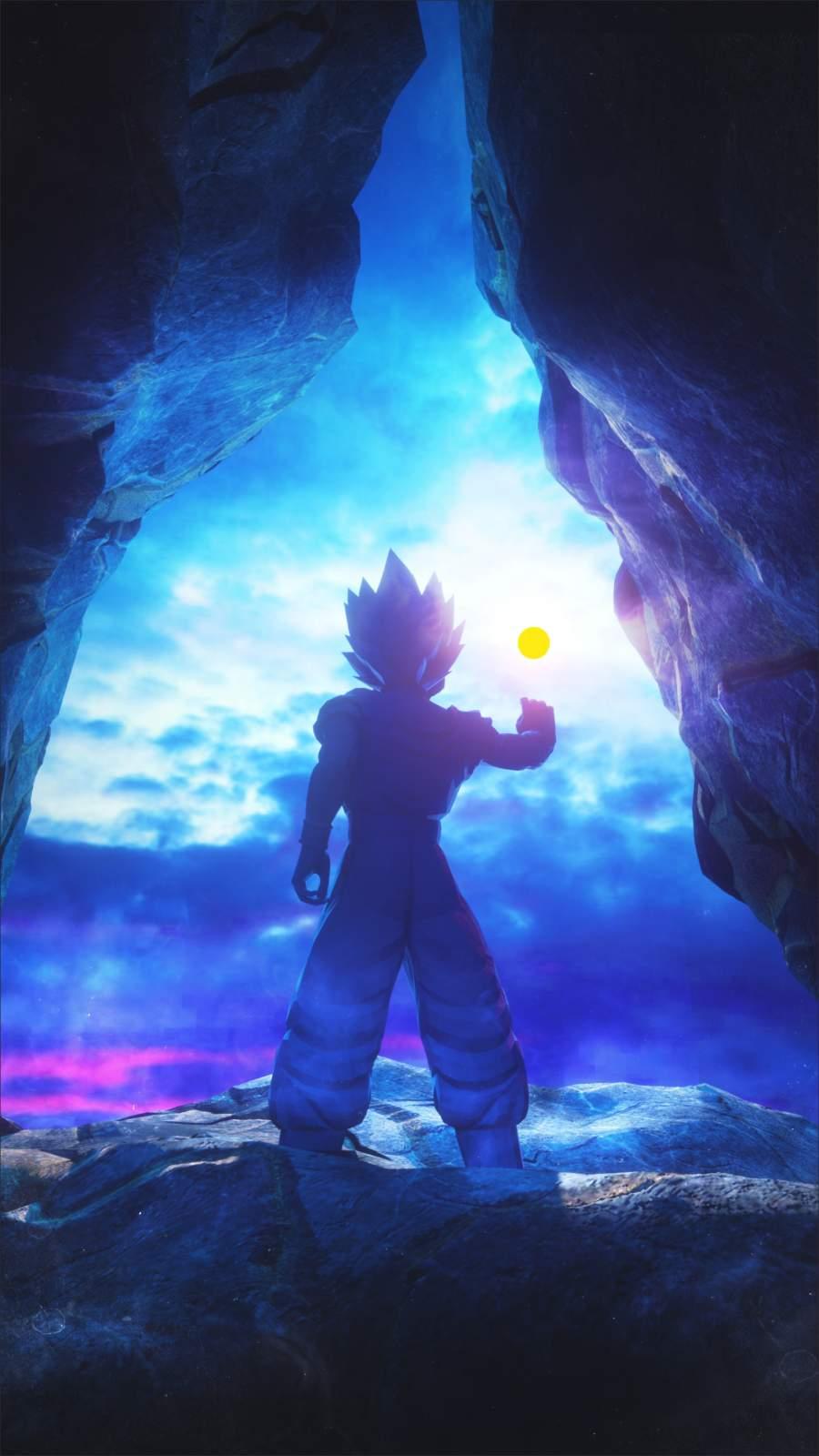 Goku Dragon Ball iPhone Wallpaper