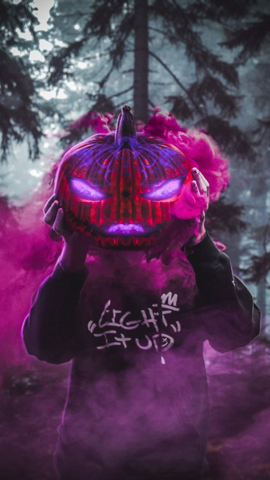 Halloween is Coming iPhone Wallpaper
