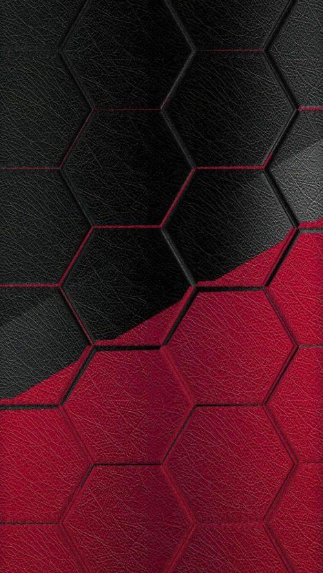 Hexagon Texture iPhone Wallpaper