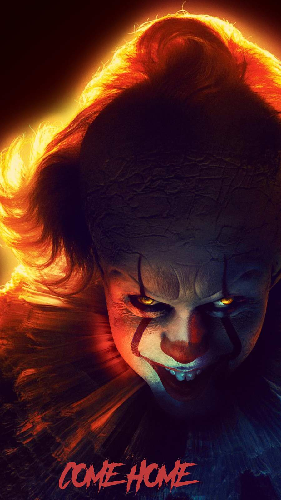 IT Chapter Two Pennywise iPhone Wallpaper