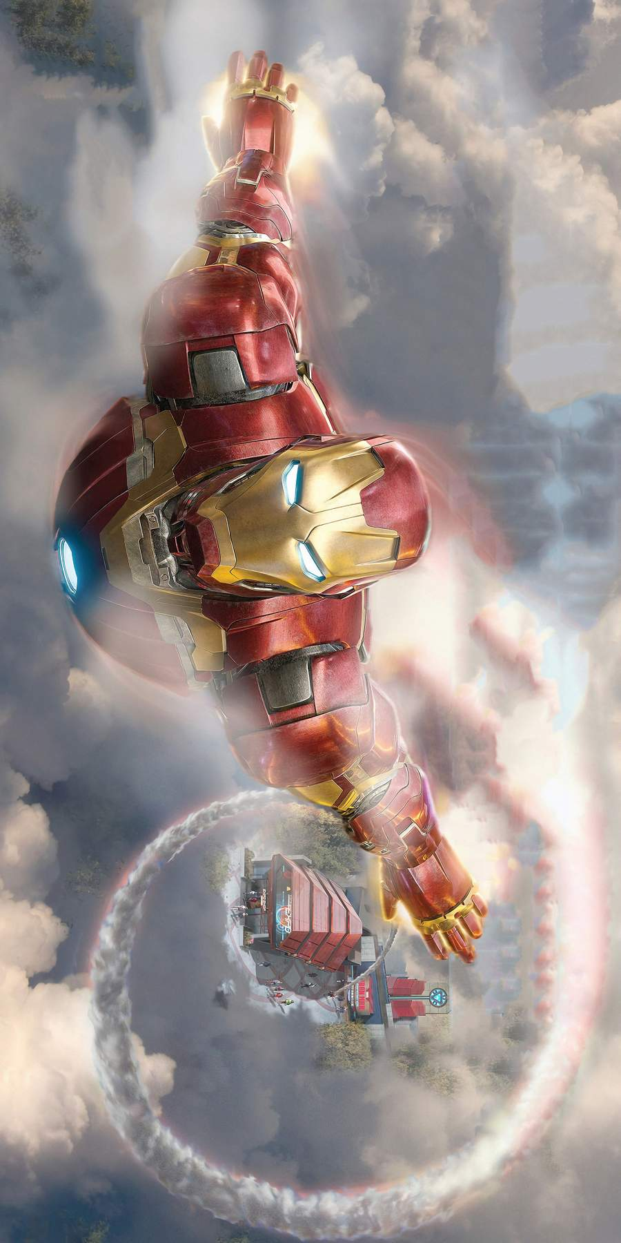Iron Man 4K iPhone Wallpaper