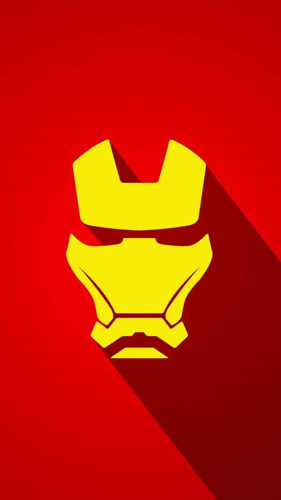 Iron Man Art Minimalist iPhone Wallpaper