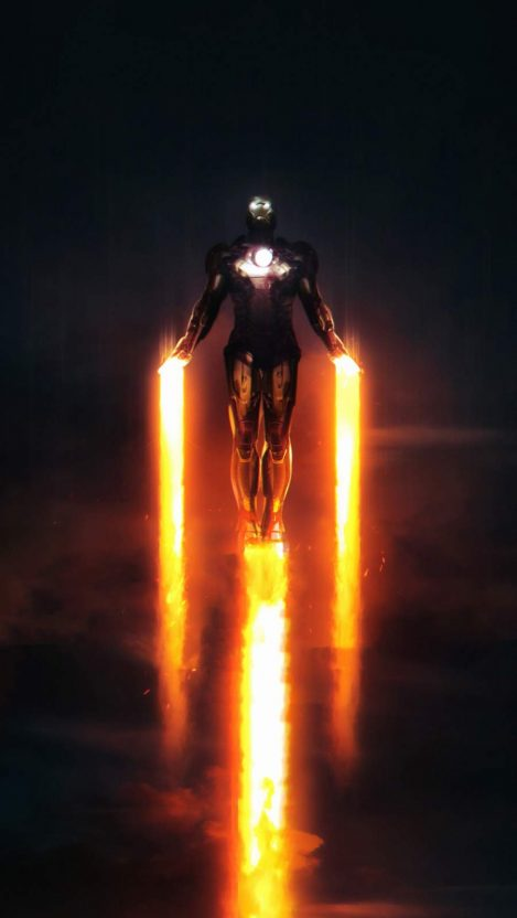 Iron Man The Only One iPhone Wallpaper