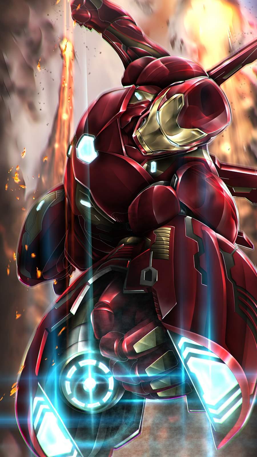 Iron Man Weapon iPhone Wallpaper